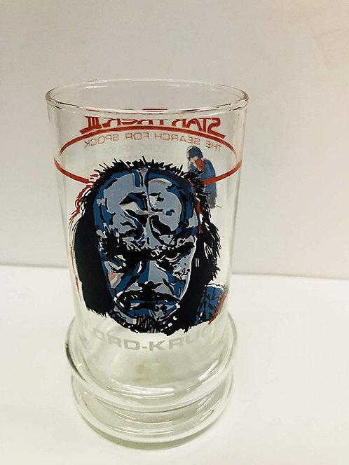 1984 Taco Bell Star Trek III Lord Kruge Glass Tumbler