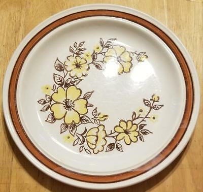 "Vintage 10 1/4"" Homer Laughlin MOUNTAIN MEADOW Dinner Plate"