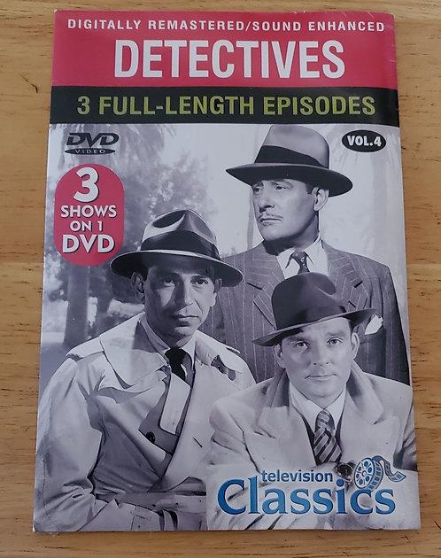 Vintage TV shows Sealed DVD 3 shows Dick Tracy, Mark Saber, Treasure Men