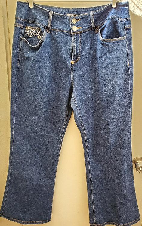 Crest Jeans Size 23/24 Stretch Jeans, Excellent Condition