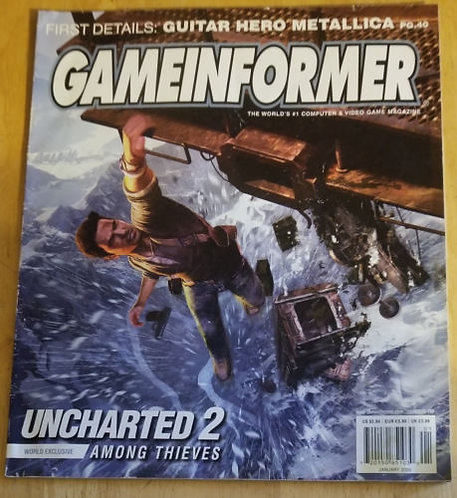 GameInformer, January 2009 (No. 189) Single Issue Magazine – 2009