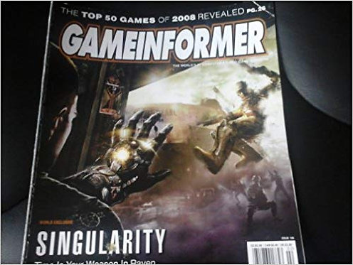 Gameinformer Magazine Singularity The Top 50 Games February 2009
