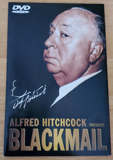 Vintage Cult Classic DVD Alfred Hitchcock's Blackmail Brand New