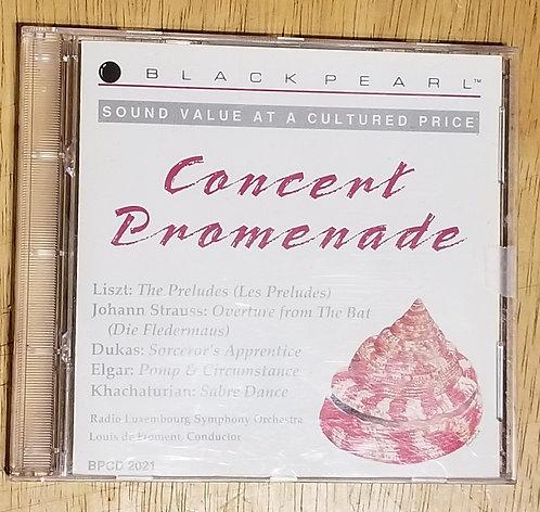 Black Pearl Concert Promenade CD