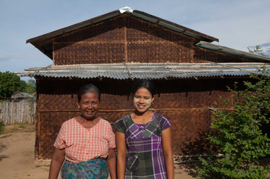 Myanmar Real Girl Thet Phyu Aye mother Z