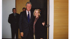 A night with Bill Clinton