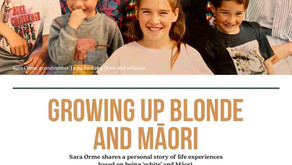 Growing up blonde and Maori