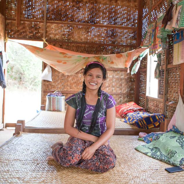 Phyo Phyo. Pakokku, Myanmar