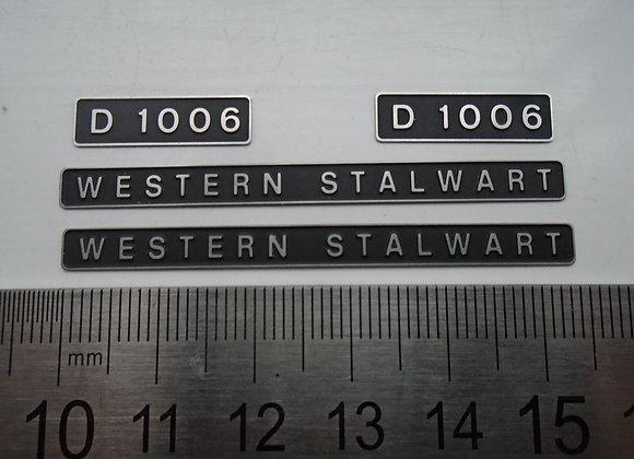 D1006 WESTERN STALWART