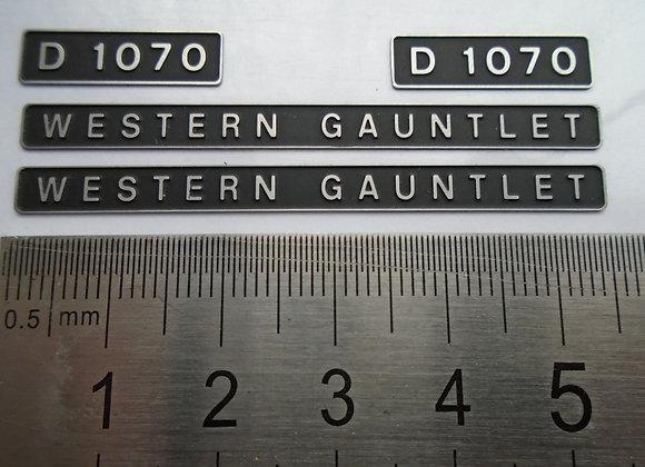D1070 WESTERN GAUNTLET