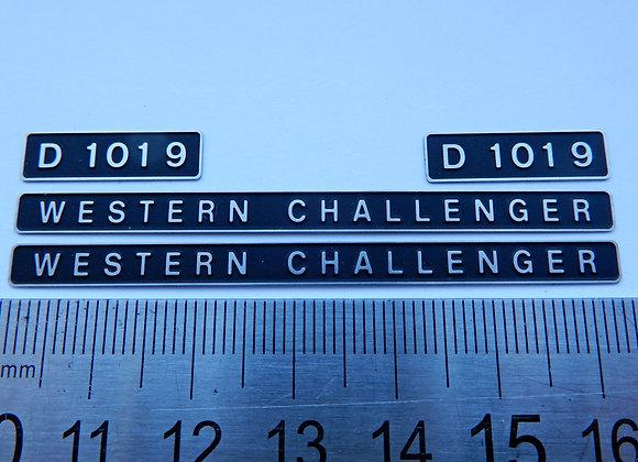 D1019 WESTERN CHALLENGER