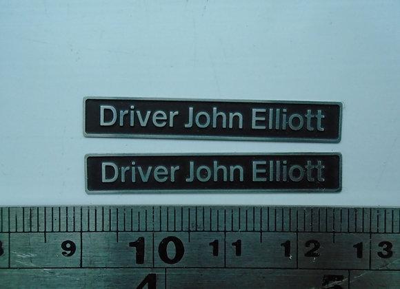 37412 Driver John Elliot