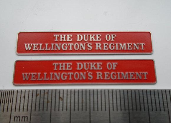 55014 THE DUKE OF WELLINGTON'S REGIMENT