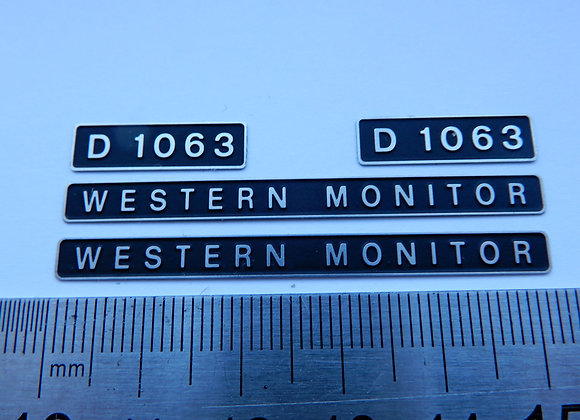 D1063 WESTERN MONITOR