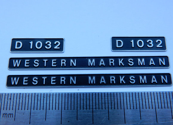 D1032 WESTERN MARKSMAN