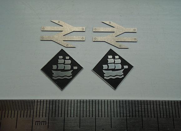 LA Laira (50149) depot plaques & arrows