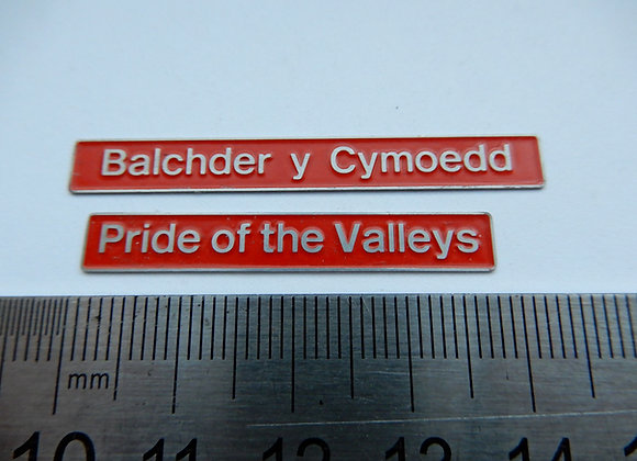 37425 Pride of the Valleys/ Balchder y Cymoedd