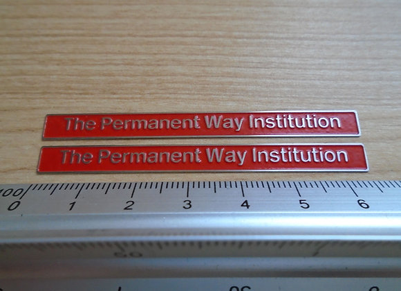 47644 The Permanent Way Institution