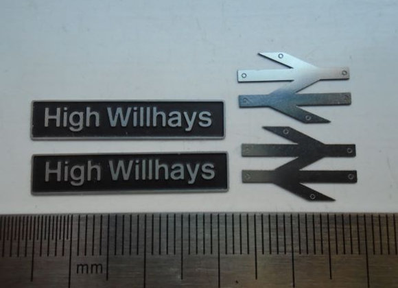 60041 High Willhays with double arrows