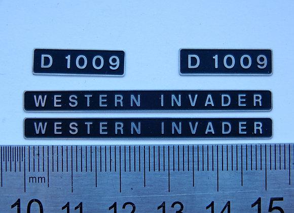 D1009 WESTERN INVADER