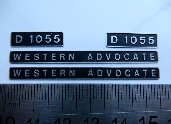 D1055 WESTERN ADVOCATE