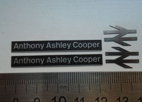 60033 Anthony Ashley Cooper with double arrows
