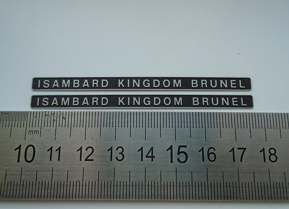 D1662 ISAMBARD KINGDOM BRUNEL