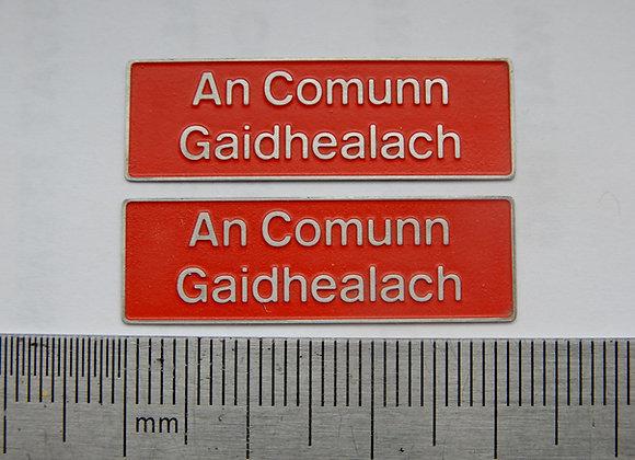 37418 An Comunn Gaidhealach
