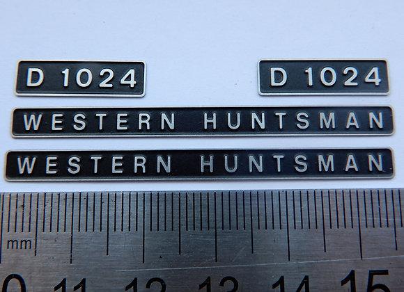 D1024 WESTERN HUNTSMAN
