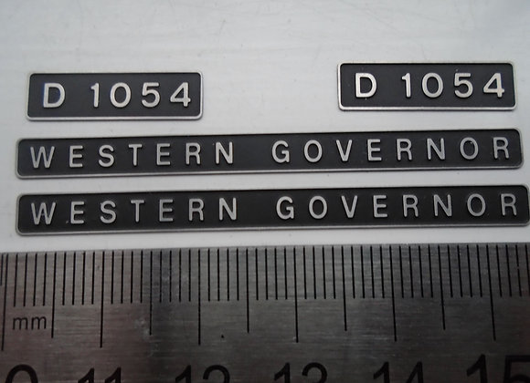 D1054 WESTERN GOVERNOR
