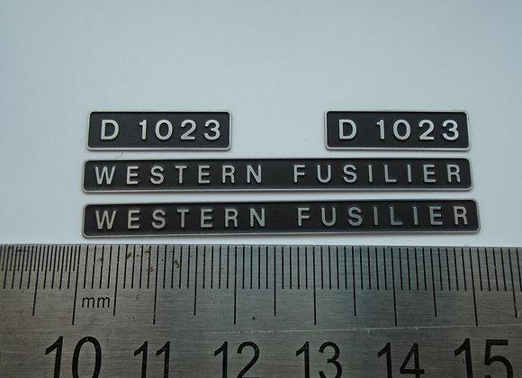 D1023 WESTERN FUSILIER
