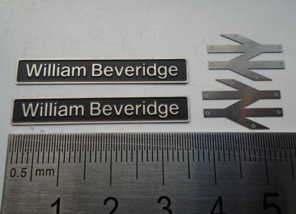 60056 William Beveridge with double arrows
