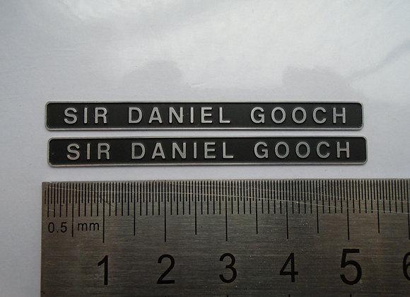 D1663 SIR DANIEL GOOCH