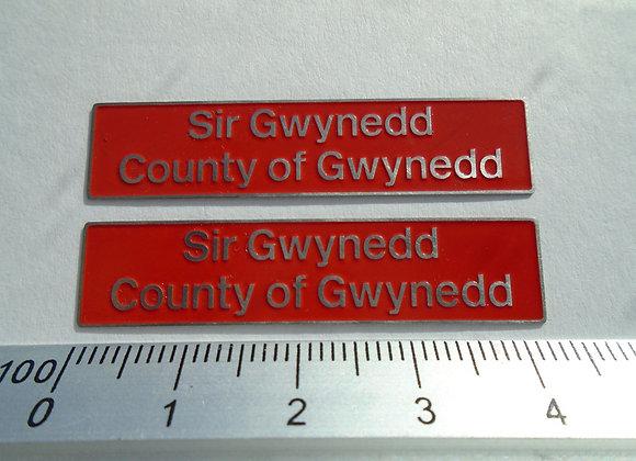 47537 Sir Gwynedd/ County of Gwynedd