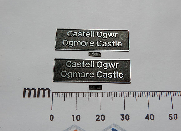 56034 Castell Ogwr Ogmore Castle