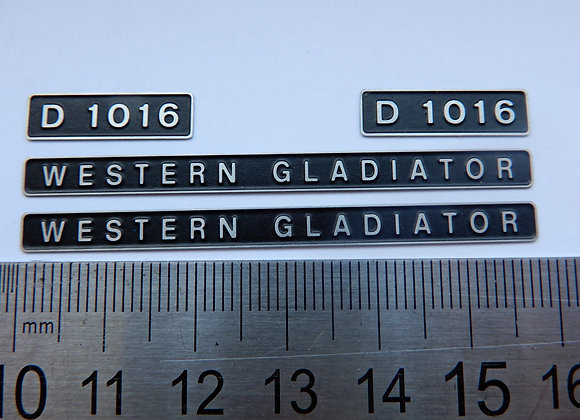 D1016 WESTERN GLADIATOR