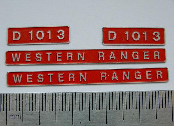 D1013 WESTERN RANGER