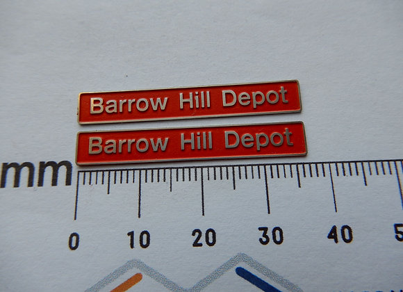 20132 Barrow Hill Depot