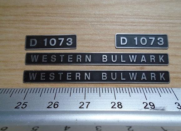 D1073 WESTERN BULWARK