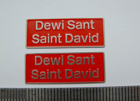 47600 Dewi Sant/ Saint David