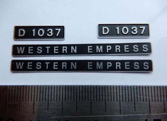 D1037 WESTERN EMPRESS
