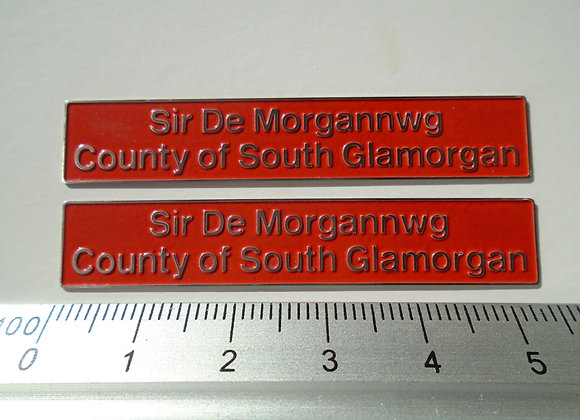 56032 Sir De Morgannwg/ County of South Glamorgan