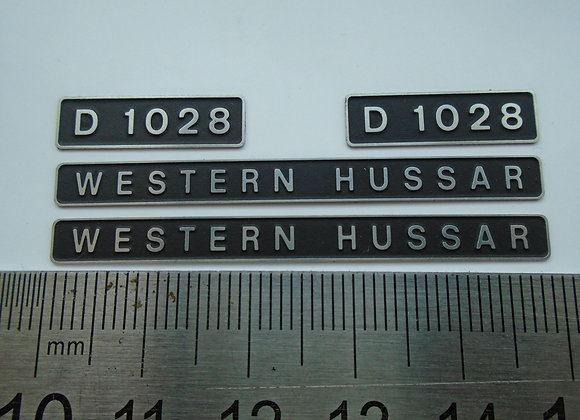 D1028 WESTERN HUSSAR