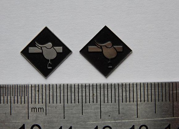 BS Bescot depot plaques & arrows