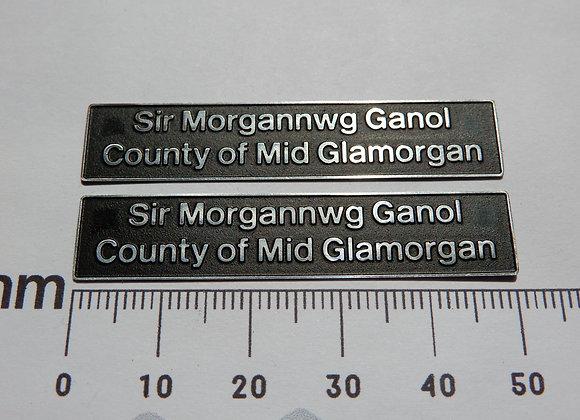 56053 Sir Morgannwg Ganol/ County of Mid Glamorgan