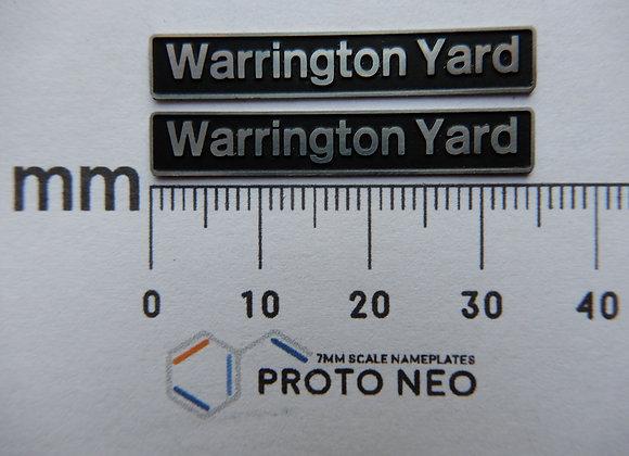 47338 Warrington Yard