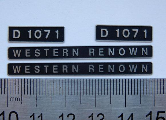 D1071 WESTERN RENOWN