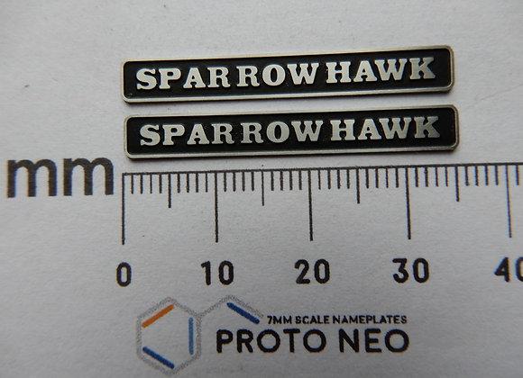 D1705 aka 47117 SPARROW HAWK
