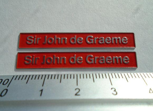 47636 Sir John de Graeme