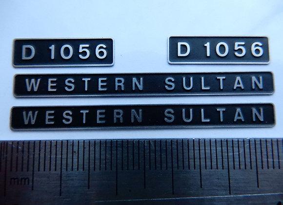 D1056 WESTERN SULTAN
